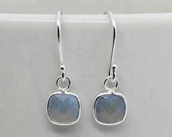 Lovely Labradorite Silver Earrings