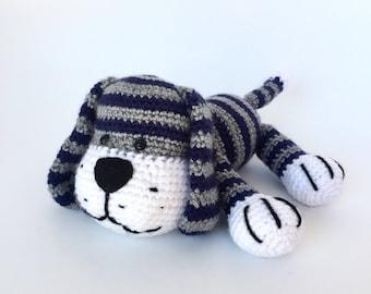 Crochet amigurumi pattern: dog