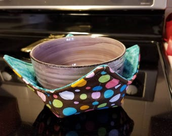 Bowl Cozy - 100% Cotton Pot Holder