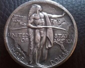 Oregon Trail Memorial Half Dollar Restrike Coin 1926