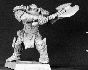 Varaug, Orc Warlord (Alternate Sculpt) - 14536 - Reaper Miniatures