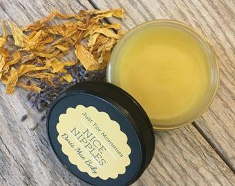 Organic Nipple Butter ~ Nipple Cream ~ Organic Nipple Balm ~ Breastfeeding ~ Organic Baby Products ~ Baby Safe ~ Gentle Formula ~ Nursing