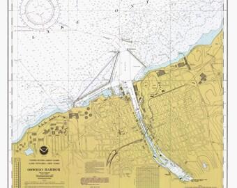 Lake oswego map Etsy
