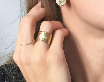 Women earrings gold Cedar