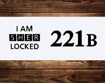 BBC Sherlock Holmes Decals