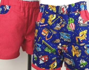 Reversible Roadworks Shorts