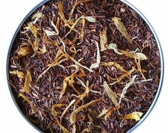 Mystic Brew Teas Creamy Caramel Rooibos Loose Leaf Tea 100g Pouch