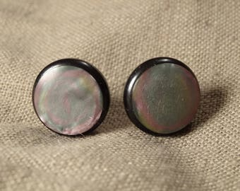 Mirage - Vintage earrings buttons