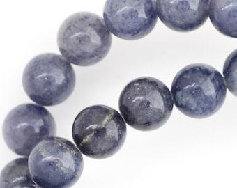 Blue Aventurine Beads - 8mm Round
