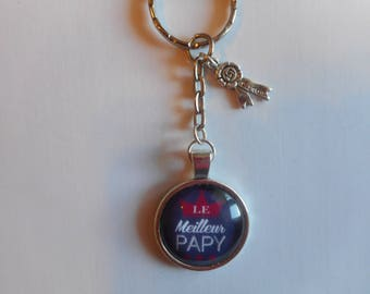 "Door keys/GRANDPA / ""The best GRANDPA"" / gift / birthday / mother of the grandfathers / thanks"