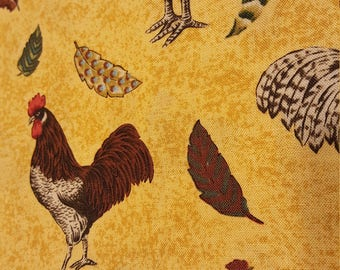 Northcott Fabrics   Roosters Roost