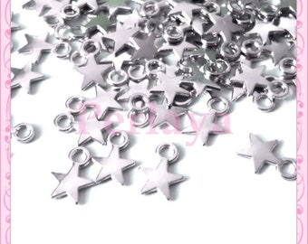 Set of 100 stars REF2313 charms