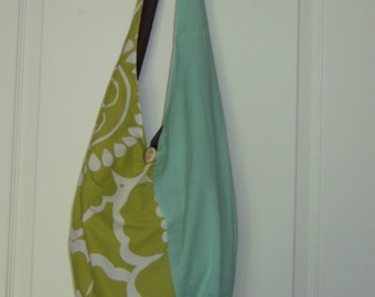 Handmade Purse using Upcycled and Recycled Materials, Single shoulder