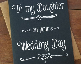 Daughter wedding | Etsy