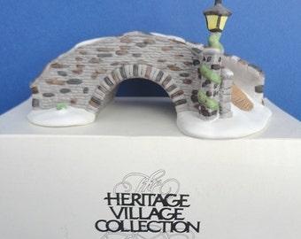 Dept 56 Stone Bridge HV Collection Accessory