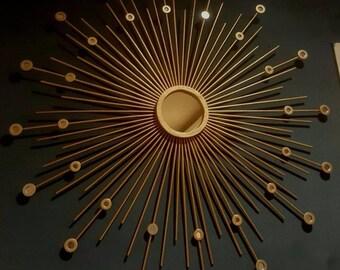 """STARburst  Mirror, Sunburst Mirror Wall Sparkle, 30""""/35"""""""