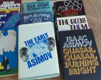 Nine Isaac Asimov Books