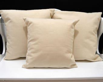 Blank Canvas Pillow Cover, HTV Blank Pillow Cover, Natural Canvas Pillow, Wholesale Pillow Cover, Envelope Pillow Cover, DIY Pillow Cover