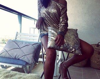 Sequin top, Women Top, Golden top, Designer Blouse, Gold Sequin , Olive Green, Sequin , Gold Sequin Top, Style , Fashion , Amazing