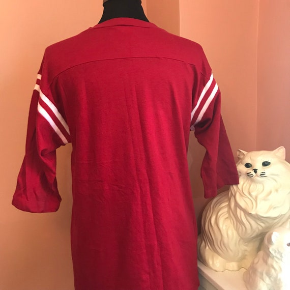 Pharmacist A837 Artex Varsity Shirt Vintage Rare Gift XL Vintage Scarlet Knights Shirt University 70s Pharmacy Rutgers xTC4ZP