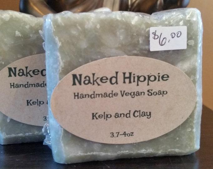 Kelp and clay artisan handmade soap