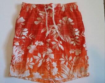 Ladies Board Skirt - Bright Orange Ombre