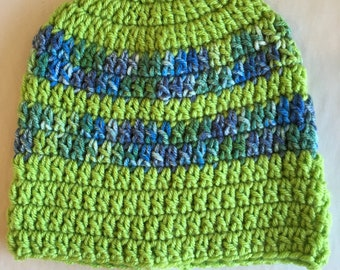 Handmade knitted hat