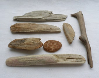 Driftwood, small driftwood, driftwood to paint, ideal for keychains, ethnic jewelry etc ...