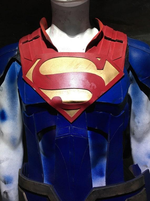Man Of Steel Emblem 1:1 Superman Costume Resin Prop Replica Suit BMnohsH