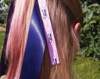 Seattle Seahawk 12th Woman Cheer Style Elastic Tie