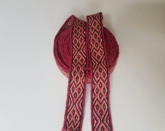 Galon cards,  fine wool, sold to 4 inch length. 1,18 inch wide.