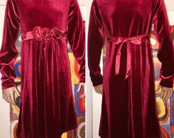 Jona Michelle Special Occasion Formal Dress Burgundy Red Size 5