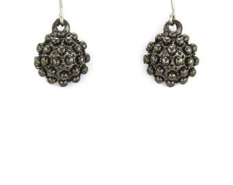 Birdhouse Jewelry - Gunmetal Mace Earrings