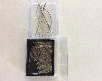 Set of Vintage Upholstery needles and pins
