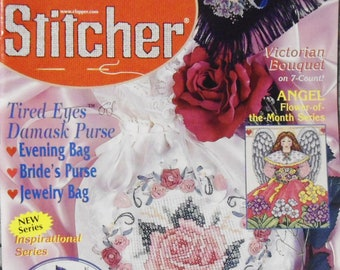 The Cross Stitcher February 2000  Magazine Volume 16 Number 6