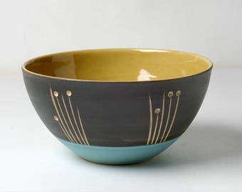 Hand-pottered cereal bowl, gifts for you