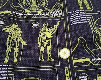 Star Wars Rogue One fabric