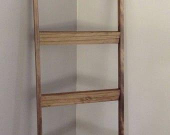 Blanket Ladder - Quilt Ladder - Home Decor - Rustic Decor - Wood Ladder - Ladder - 6 ft Blanket Ladder - Blanket Holder  - Farmhouse Ladder