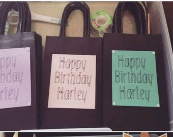 Gift/Party favor bags