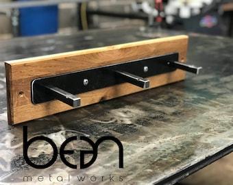 square 3 pin industrial coat hook