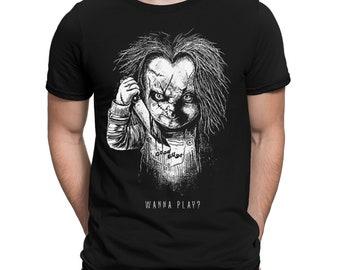 Chucky Child's Play T-shirt, Men's Women's All Sizes