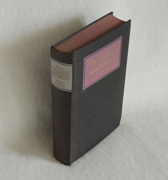 Vintage 1923 Book.. Dreams Of Change And Other Stories.. By Ivan Bunin.. HB