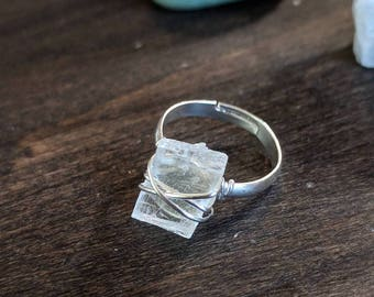 Crystal ring Etsy