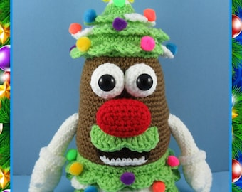 Mr. Potato Head Christmas Tree (PDF file only, not the finished doll)