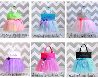 Dance Bag, ballet bag, tutu bag, personalized bag, girls name bag, custom tote, personalized tote, tote bag, girls princess bag, girl gift