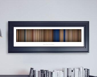 Mad Max: Fury Road // Movie Poster // Movie Barcode // Oscar Film // Academy Awards // Wall Decor // Panoramic