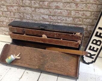 Vintage Carpentry Storage Box