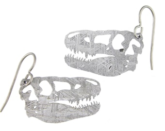 T-Rex Gibeon Meteorite Earrings