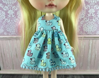 SALE - Blythe Dress - Baby Ducks