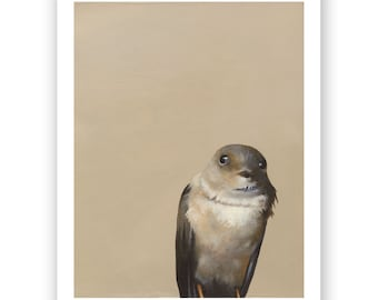 Oh My GOD DAMN 8 x 10 Limited Edition Art Print - Bird - Hummingbird - Animal - Nature - Gift